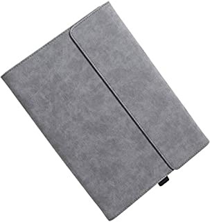 For Microsoft Surface Pro 7 / 6 / 5 / 4 Protective Cover for Surface Pro 7 / 6 / 5 / 4 Sleeve with Leather Outside and Sil...