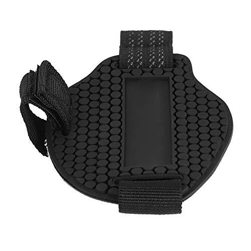 Almohadilla de cambio, Almohadilla de cambio protectora de motocicleta Zapatos Botas Protector de desgaste Protectores de cambio - Negro