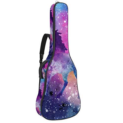 Funda para guitarra acústica con almohada para el cuello,...