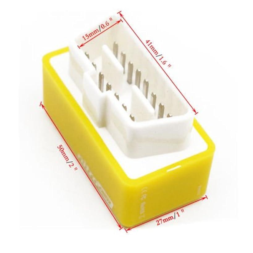 RICKYZHU OBD2 Performance Tuning Chip Box Saver Gas/Petrol Vehicles Plug & Drive Quality
