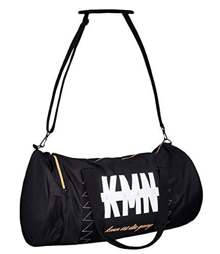 KMN Gang Sporttasche, Farbe:schwarz, Größe:one-size