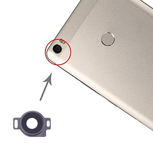 un known Reemplazo Compatible Tapa de Lentes de cámara de 10 PCS para Xiaomi MI MAX Accesorio (Color : Grey)