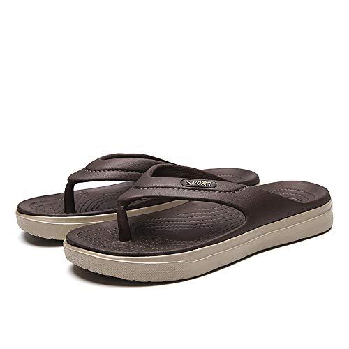 MedusaABCZeus Zapatos de Playa de Baño,Chanclas para Hombre, Chanclas, Antideslizantes-Beige_42,Piscina Sanitarios Sandalias Verano