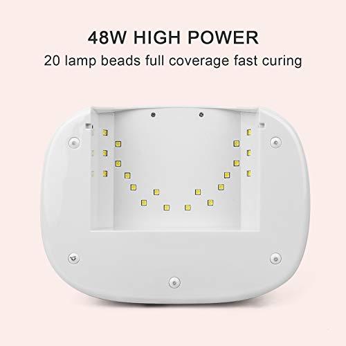 NEXPURE Nail Dryer LED Lamp