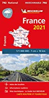 France 2021 – High Resistance National Map 792: Maps (Michelin National Maps)