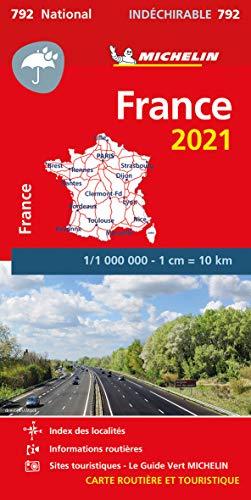 Mapa National Francia 'Alta Resistencia' 2021: Maps: 792 (Mapas National Michelin)