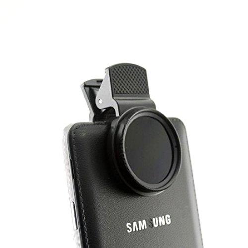 System-S Universal Clip-on Klammer Neutraldichtefilter Graufilter ND-Filter Linse Objektiv für Smartphone Tablet
