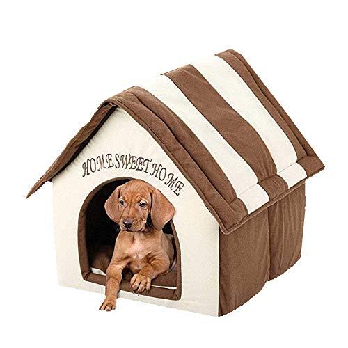 Queta Petite niche portable pour animal de compagnie avec coussin...