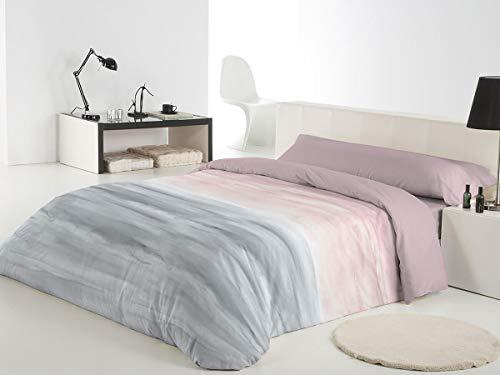 Reig Marti Funda NÓRDICA Estampada 3/Piezas Modelo: Akio, Color: 02, Medida: Cama DE 105x190/200cm.