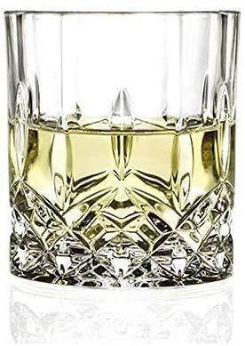LLM Galsses Vino Taza de Cerveza del Vidrio de Vino Whisky Vasos/Vaso con el patrón de Corte de Cristal - Cristal de Plomo Libre del Claro Vaso Highball (Size : B)