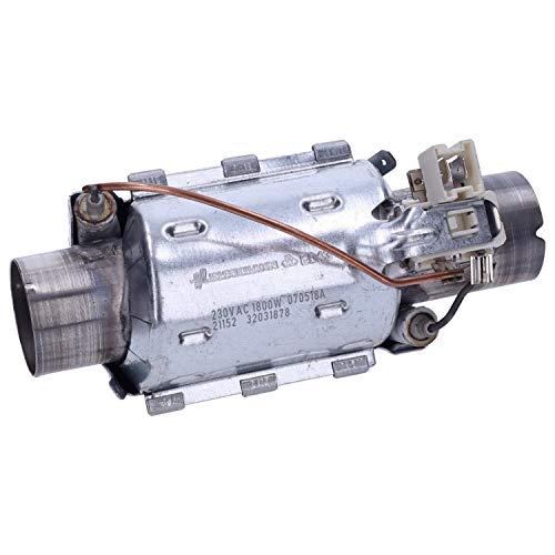 Wessper 1800W Elemento calefactor de lavavajillas Beko DFN 6835