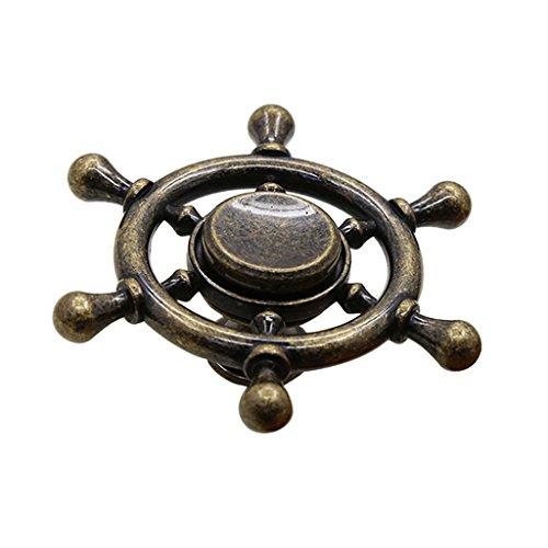 Baoblaze Maritim Steuerrad Möbelgriff Schrankgriff Schubladengriffe - Bronze Single
