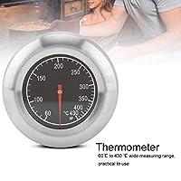 バーベキュー温度計ゲージ調理温度計簡単な取り付けステンレス鋼耐久性グリルのために読みやすい