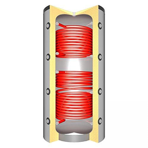 Schindler + Hofmann Speichertechnik 97002750 Pufferspeicher 5000 L mit 2x Solarwärmetauscher*
