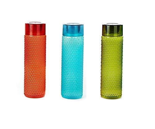 Water Bottles for Fridge School College Office Use Set of 3 BPA Free(Capacity 1000ml)