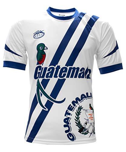 Arza Sports Guatemala Men's Soccer Jersey (Medium, White)
