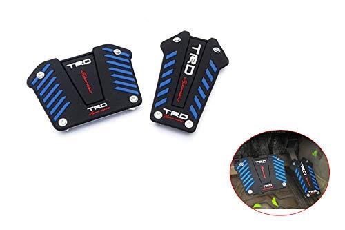 sanheng fire Automatic Catch Pedals Anti-Slip Mat for Throttle, Brake Metal Pedal