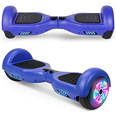 "Spadger Hoverboard, 6.5"" Self-Balancing Scooter Hoverboard for Kids(Blue)"
