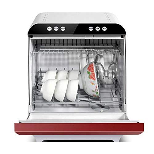 LOCGFF Lavavajillas De Sobremesa, Lavavajillas Doméstico Inteligente, Lavavajillas Sin Instalación Automática, Desinfección A Alta Temperatura A 72 ℃, Limpieza Completa A 360 °,440mm*430mm*520mm