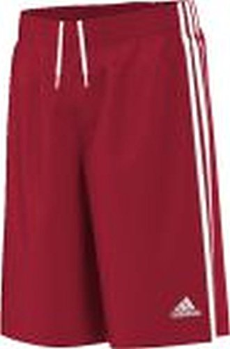 adidas Kinder Shorts Commander Youth, Rot/Weiß, 128