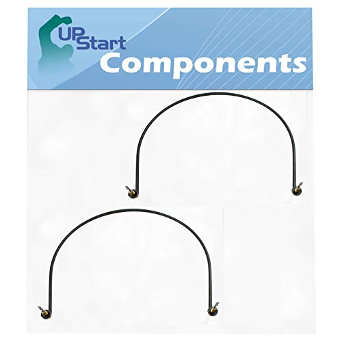 2-Pack W10518394 Dishwasher Heating Element Replacement for Magic Chef CDB7000AWW5 - Compatible with W10134009 Heater Element