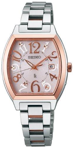 セイコーSEIKO 腕時計 LUKIA ルキア ソーラー電波修正 サファイアガラス スーパークリア コーティング SSVW048 レディース