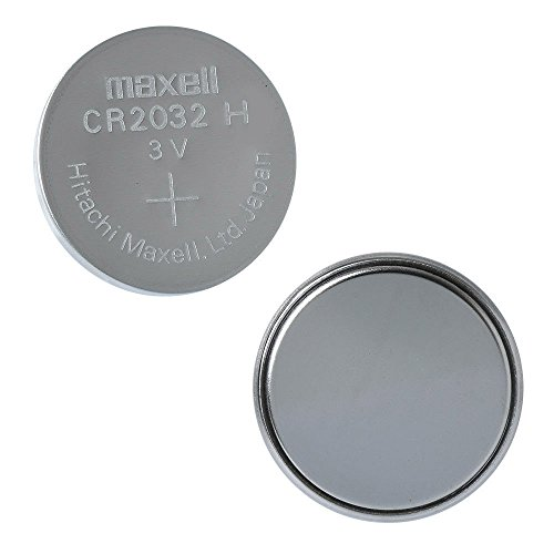 Maxell CR2032 lithium batteries -pack of 15