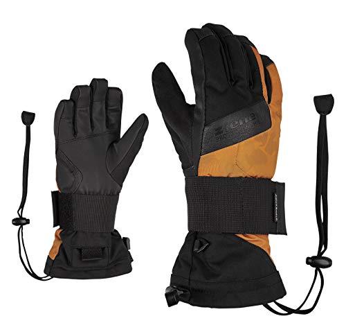 Ziener Mikks Snowboard Handschuhe Unisex Kinder M Toffee-Tarnfarbe