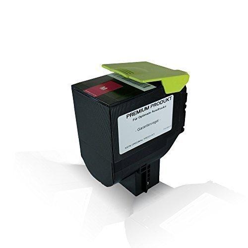 Print-Klex Tonerkartusche Magenta mit 3.000 Seiten kompatibel für Lexmark CS310dn CS310n CS410dn CS410dtn CS410n CS510de CS510dte 70C2HM0 Magenta