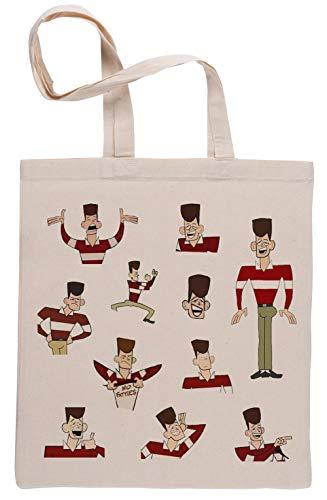 JFK Clone High Reusable Beige Shopping Bag