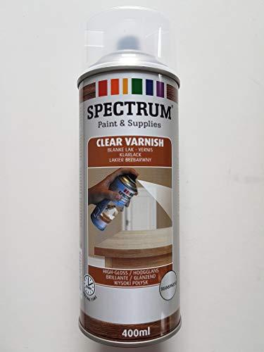 1K Klarlack Acryllack Spray 400ml Glänzend