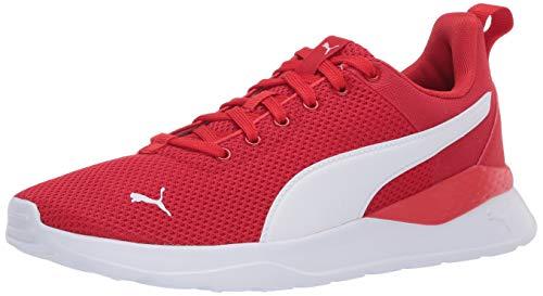 PUMA Anzarun Sneaker, High Risk Red White, 8.5 M US