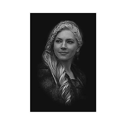 Leinwand-Poster, Motiv: Vikings Lagertha, 30 x 45 cm, ohne Rahmen