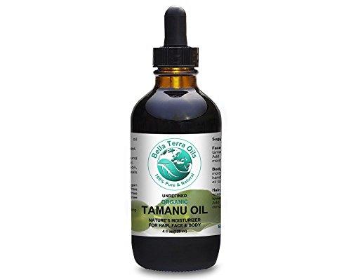 Tamanu Oil 4 oz Foraha. 100% Pure. Cold-pressed. Unrefined. Organic. Natural. - Bella Terra Oils