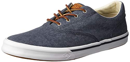 Sperry Mens Striper II CVO Sneaker, Navy, 16