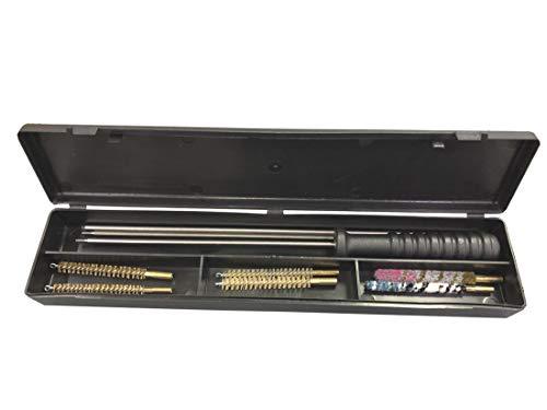 Outletdelocio.. Kit de Limpieza para Pistolas y carabinas Calibre 4,5 y 5,5mm. En Estuche de plastico