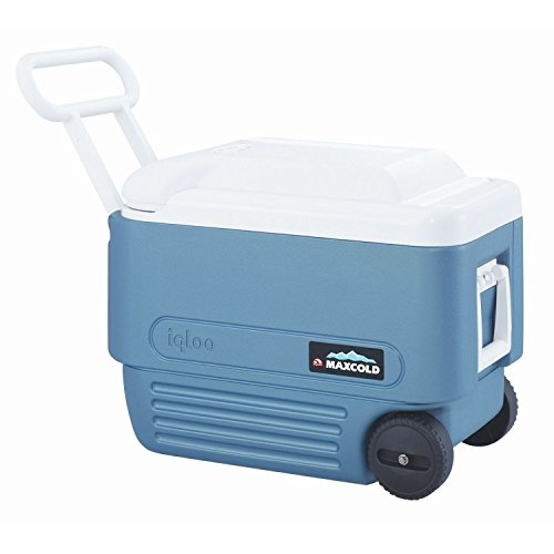 Igloo 40 Quart Maxcold Extended Performance Wheeled Cooler