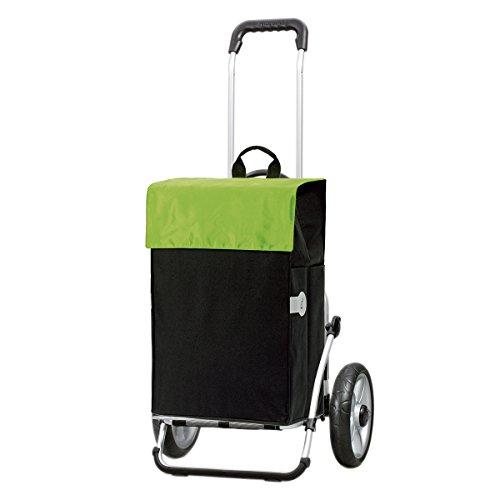 Andersen Shopper Royal Kugellagerrad mit Tasche Hera 44 Liter grün
