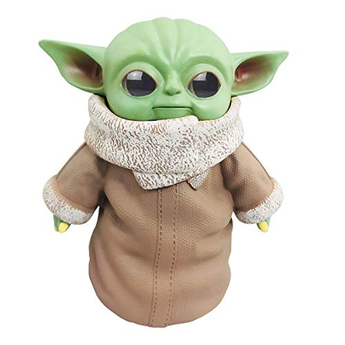 Baby Yoda Doll, 5.9inch Handmade The Child Mandalorian PVC Toy Collectibles Birthday Gift for Kids