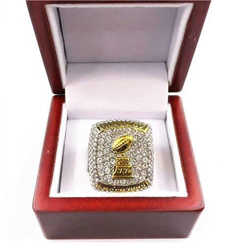 2020 FFL Fantasy Football Annual Championship Ring Zubehör 11 Größe Fan Souvenirs Basketball Bewegung Ring mit Box