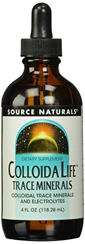 Source Naturals ColloidaLife Trace Minerals & Electrolytes - Dietary Supplement - 4 Fluid oz, SN0353