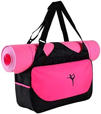 UIYTR Gym Bag for Women Workout Purse with Yoga Mat Holder Straps Roomy Tote Bag For Fitness product image