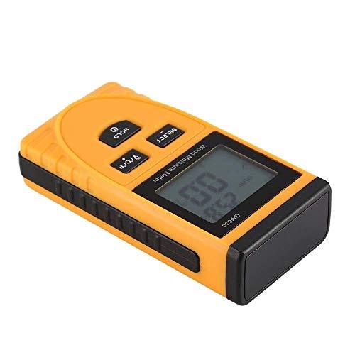 DJY-JY Feuchtigkeitsmesser GM630 Digital-LCD-Display Holzfeuchtemessgerät Feuchtigkeitstest Wassergehalt Meter Detector Dichte Hygrometer Vochtmeter Feuchtigkeit Tester