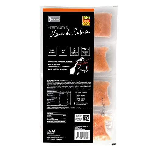 La Sirena - Lomos De Salmon Premium Pack - 4 X 125 g