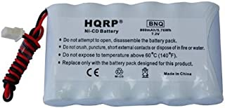 HQRP Battery Compatible with Ademco Honeywell LYNXR-2FR, LYNXR-2SIA, LYNXR-ENSIA Security System + HQRP Coaster