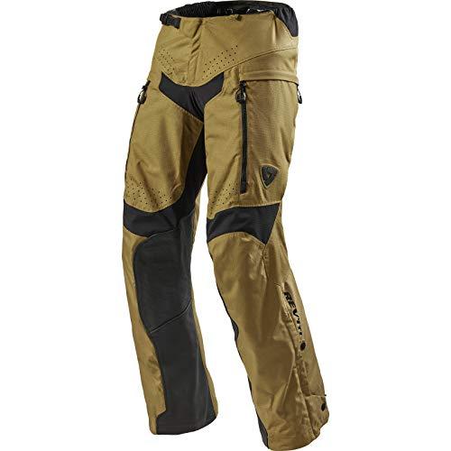 Revit Continent Motocicleta Pantalones Textiles - beige, Lang XL