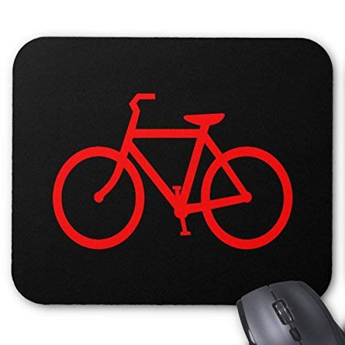 Mousepad Red Bike Mouse Mat