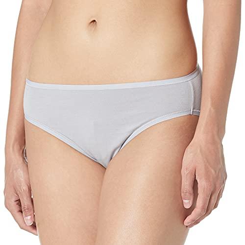 Amazon Essentials Women's Cotton Stretch Hi-Cut Brief Panty, 6 pack, Fashion Assorted, Large