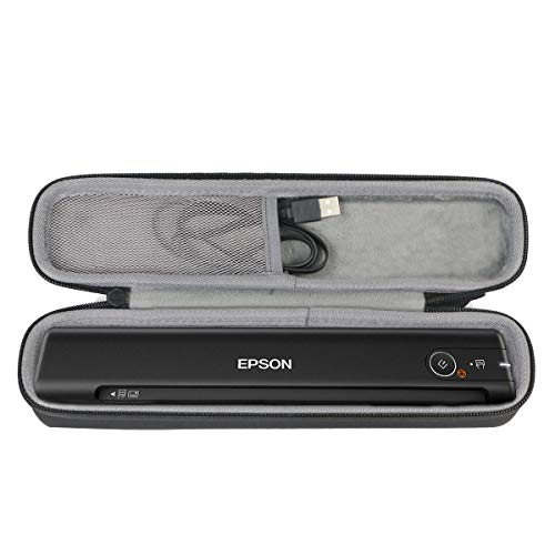 co2crea Hard Travel Case for Epson Workforce ES-50 ES-60W DS-70 DS-80 Portable Sheet-fed Document Scanner