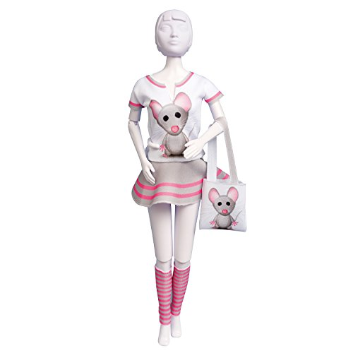 Dress your doll - Puppenkleider selber machen - Level 1 - Tiny Mouse